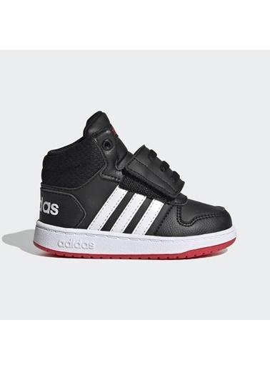 adidas Adidas FY9291 HOOPS MID 2.0 BEBEK SPOR AYAKKABI Siyah